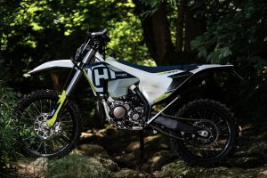 Customized Husqvarna TE 300i of Tibor Simai